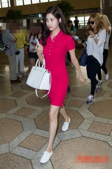 少女時代 ソヒョン 空港私服ファッションまとめ~だんだん優雅な感じに